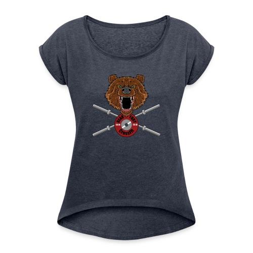 Bear Fury Crossfit - T-shirt à manches retroussées Femme