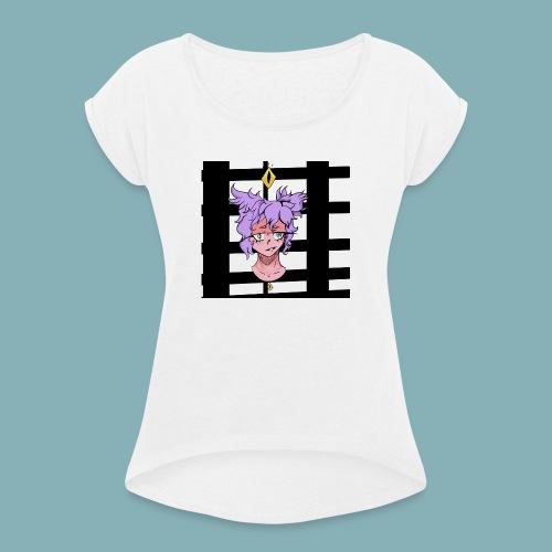 Mel xani t-shirt femme Doxie's creation - T-shirt à manches retroussées Femme