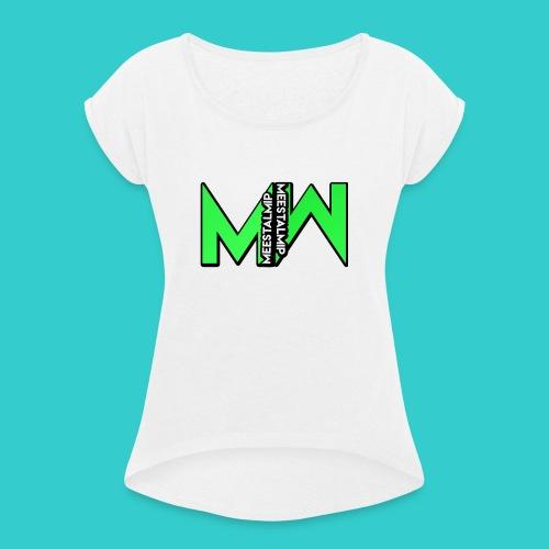 MeestalMip Hoodie - Men - Vrouwen T-shirt met opgerolde mouwen