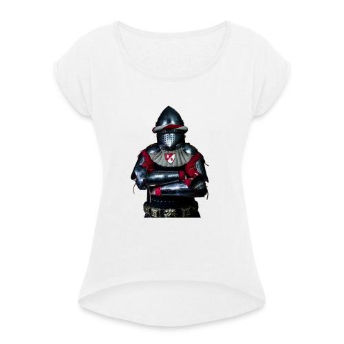 chevalier.png - T-shirt à manches retroussées Femme