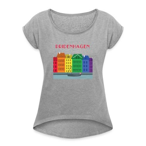 PRIDENHAGEN NYHAVN T-SHIRT - Dame T-shirt med rulleærmer