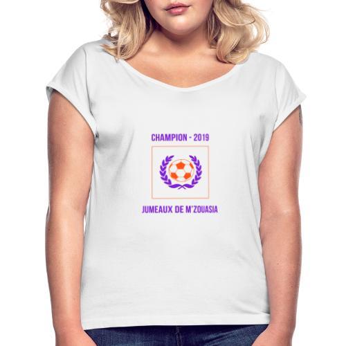 JUMEAUX CHAMPION RÉGIONAL 1 - 2019 - T-shirt à manches retroussées Femme