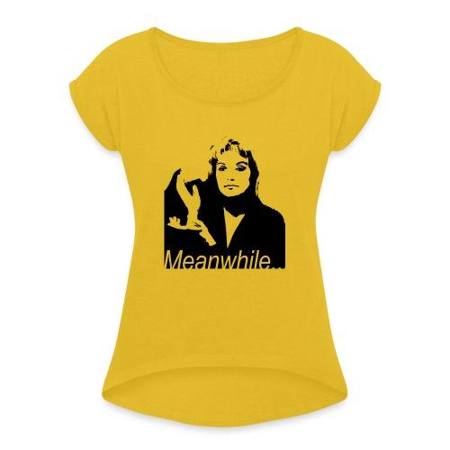 Laura Palmer meanwhile... - Maglietta da donna con risvolti