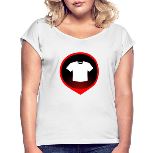 T-shirt detected ! - T-shirt à manches retroussées Femme