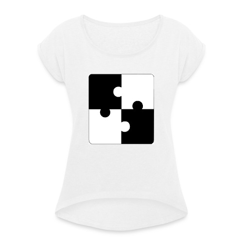 jigsaw - Women's T-Shirt with rolled up sleeves