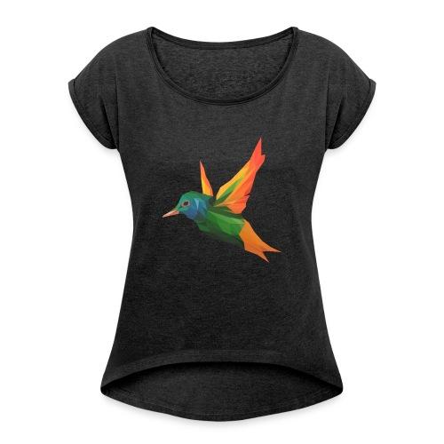EXOTIC BIRD - MINIMALIST - T-shirt à manches retroussées Femme