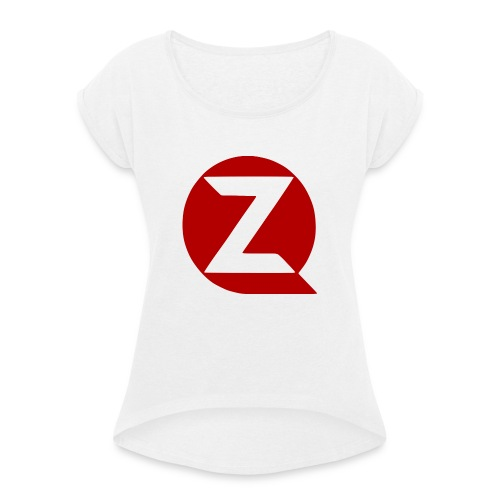 QZ - Women's T-Shirt with rolled up sleeves