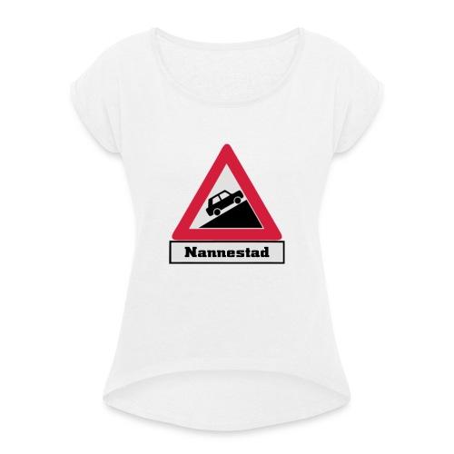 brattv nannestad a png - T-skjorte med rulleermer for kvinner
