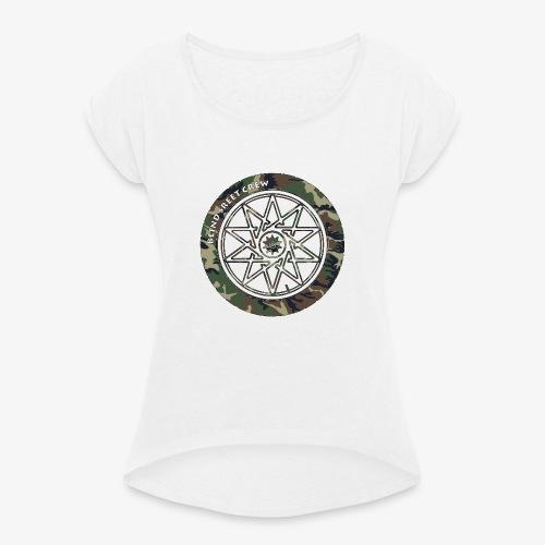 BSC F- Sign Camo II - Maglietta da donna con risvolti