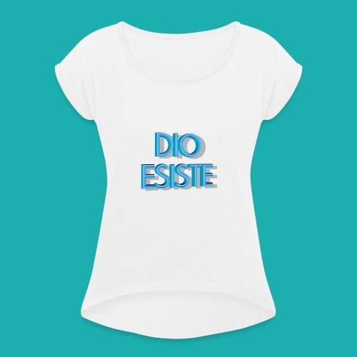 DIO mio - Maglietta da donna con risvolti