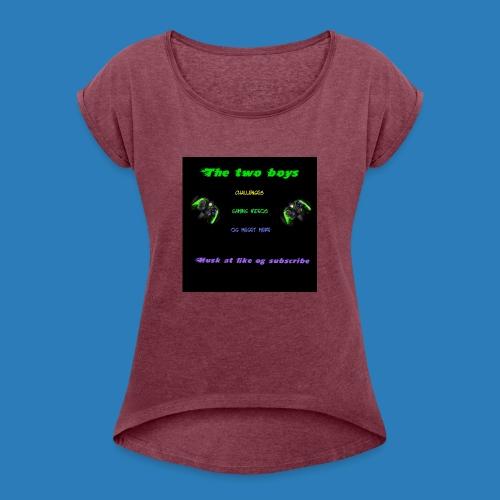 LUISJAKUBINTRO-jpg - Dame T-shirt med rulleærmer