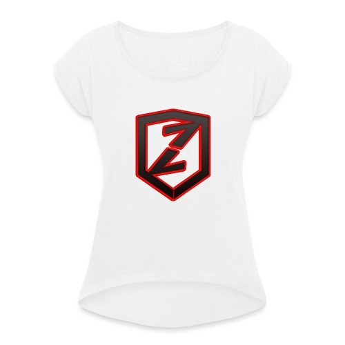 Zivour Shirt - T-skjorte med rulleermer for kvinner