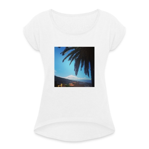 Islas Tenerife - Maglietta da donna con risvolti