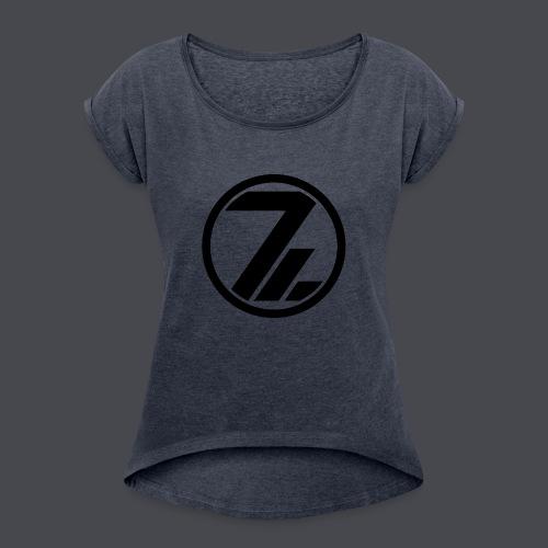 OutsiderZ Tasse - Frauen T-Shirt mit gerollten Ärmeln