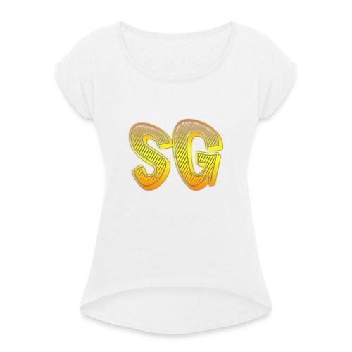 Cover 6/6s Plus - Maglietta da donna con risvolti