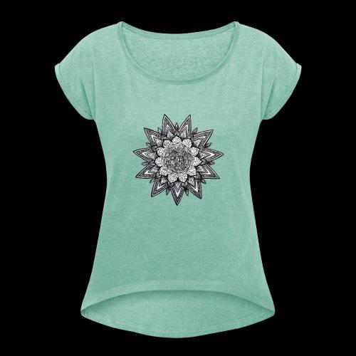 trippy dreams - T-shirt à manches retroussées Femme