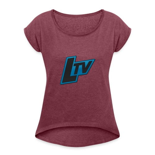 Lundorff_tv - Dame T-shirt med rulleærmer