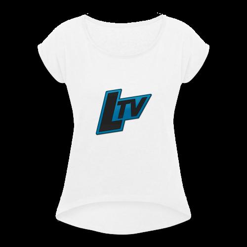 Lundorff TV - Dame T-shirt med rulleærmer