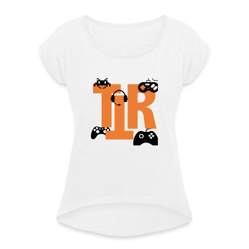 ttr streams - Women's T-Shirt with rolled up sleeves