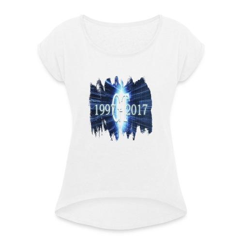 GuttaTur 20 years - T-skjorte med rulleermer for kvinner
