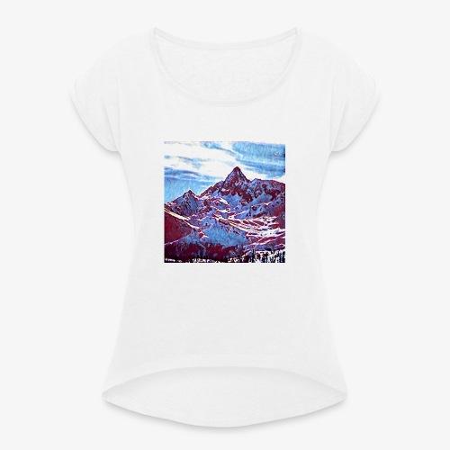 Red Mountain - Maglietta da donna con risvolti