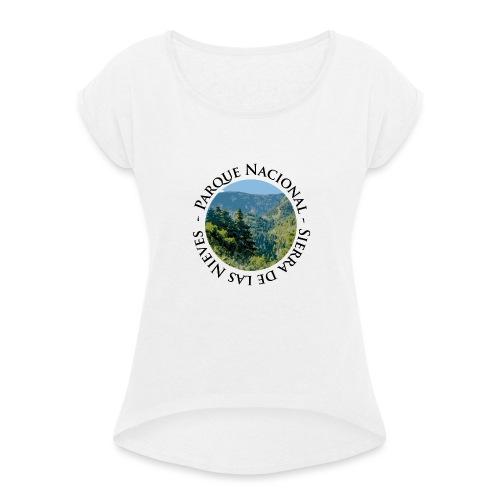 Parque Nacional Sierra de las Nieves - Camiseta con manga enrollada mujer