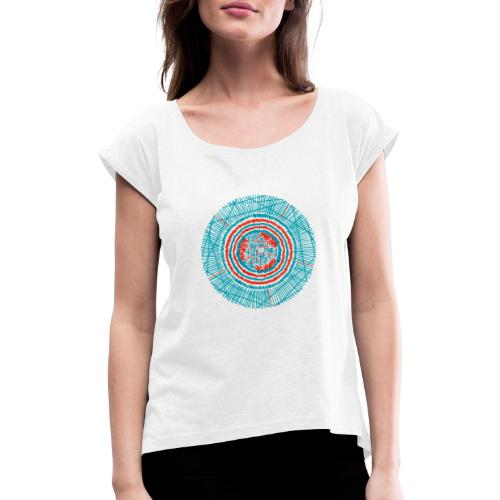 Destination - Women's T-Shirt with rolled up sleeves