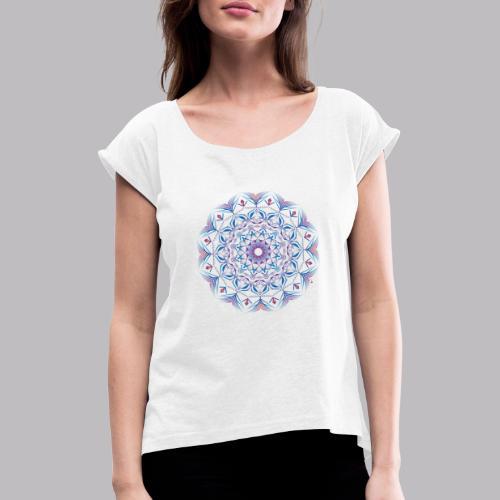 Mandala - Maglietta da donna con risvolti