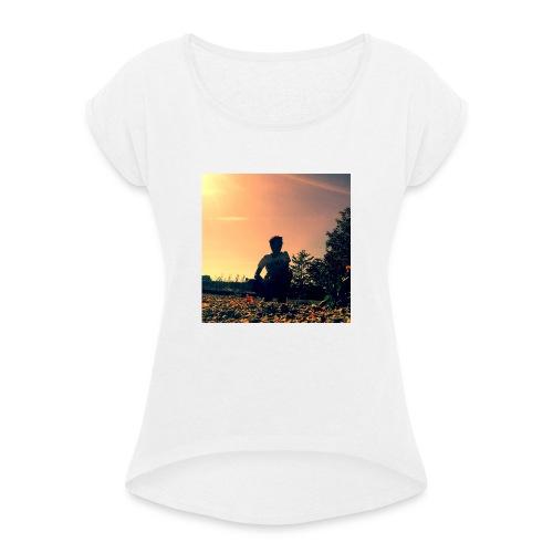 Benji photo - T-shirt à manches retroussées Femme