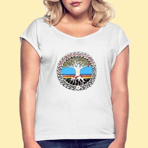 Médaillon d'AelYs - T-shirt à manches retroussées Femme