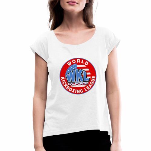 WKL CALIFORNIA - Camiseta con manga enrollada mujer