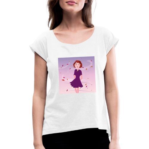 Dreamgirl Katie herfst - T-shirt à manches retroussées Femme