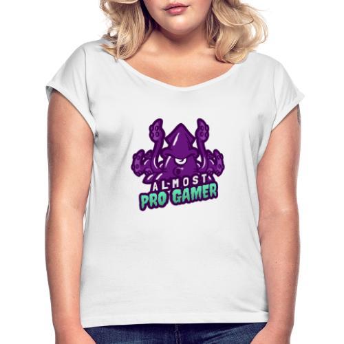 Almost pro gamer PURPLE - Maglietta da donna con risvolti