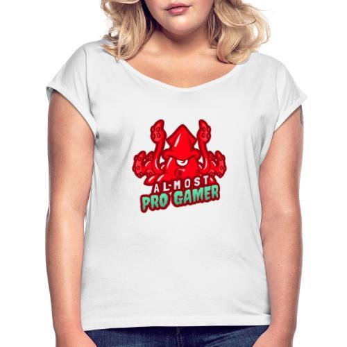 Almost pro gamer RED - Maglietta da donna con risvolti