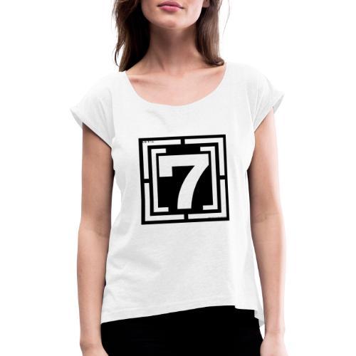 lOGO 7 - T-shirt à manches retroussées Femme