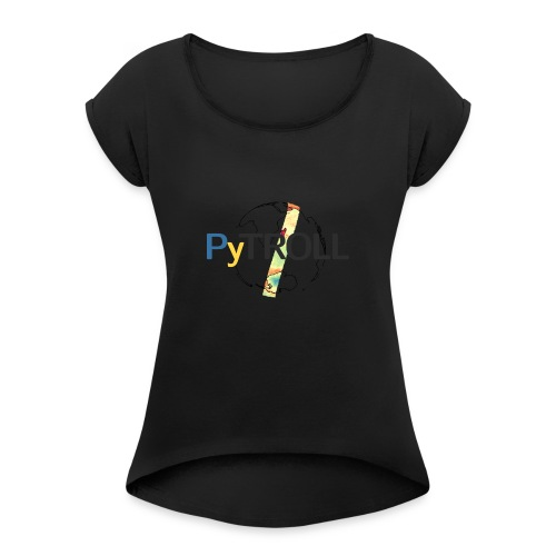 light logo spectral - Women's T-Shirt with rolled up sleeves