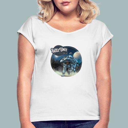 STMWTS Merch - Vrouwen T-shirt met opgerolde mouwen