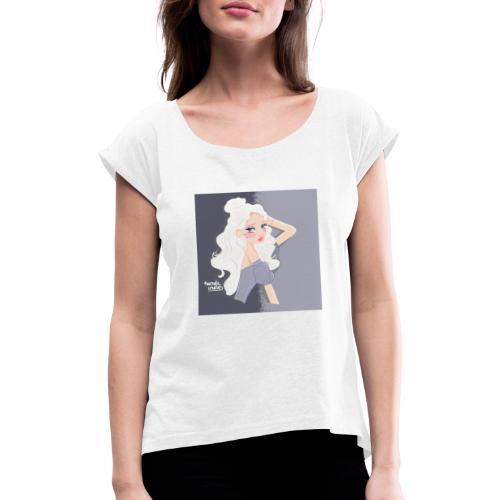 Princesse Anna Bella - T-shirt à manches retroussées Femme