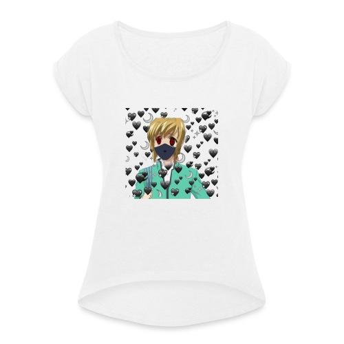 Picosohm - Frauen T-Shirt mit gerollten Ärmeln