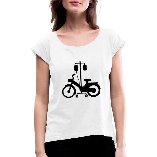 atelier mob 38120 - T-shirt à manches retroussées Femme