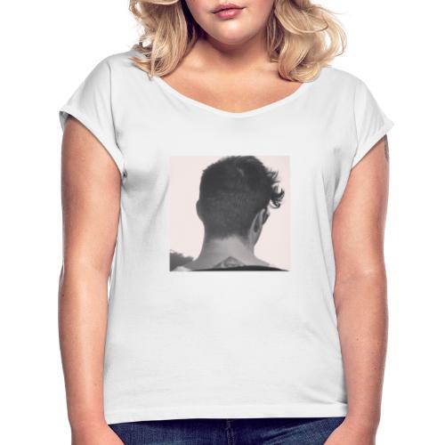 Screenshot 20190819 092421 Instagram - Frauen T-Shirt mit gerollten Ärmeln
