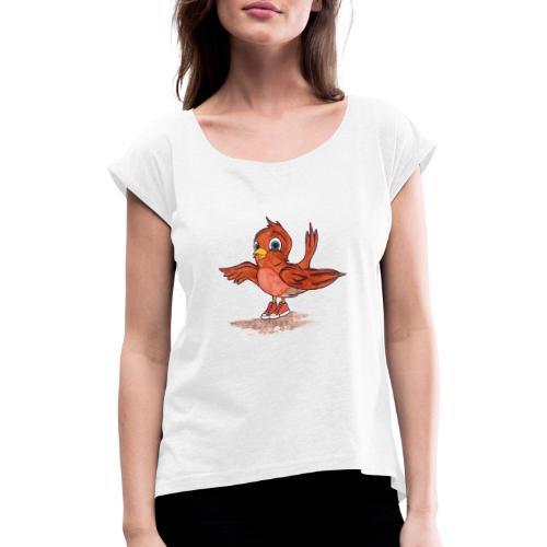 A bird - Maglietta da donna con risvolti
