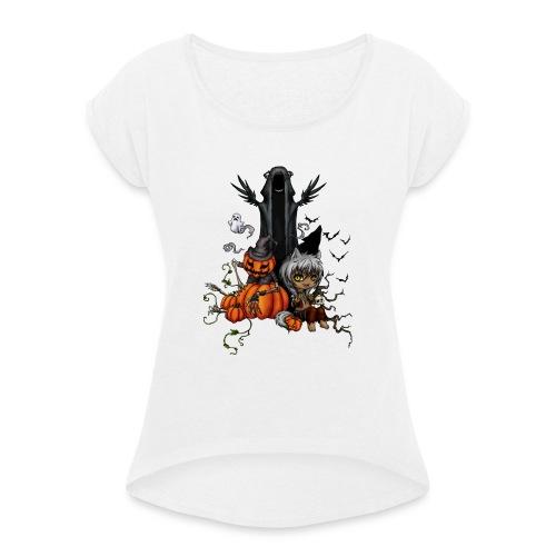 Project Drawing 12078132721 - T-shirt à manches retroussées Femme
