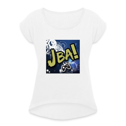 JBAGAMEZ - Women's T-Shirt with rolled up sleeves