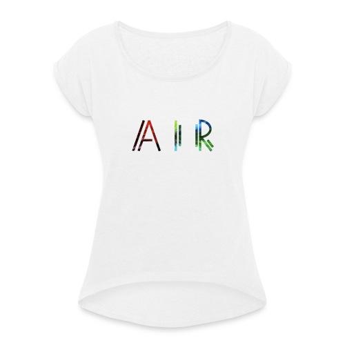 Air classic - intense dimension - T-shirt à manches retroussées Femme