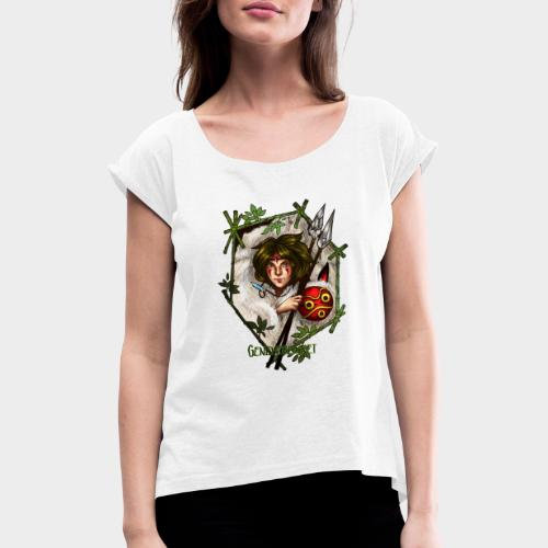 Geneworld - Mononoke - T-shirt à manches retroussées Femme