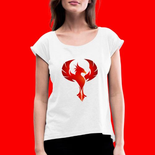 Phynyx Trust Collection - Frauen T-Shirt mit gerollten Ärmeln