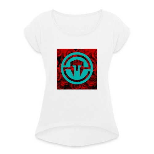 xxImmortalScope - Women's T-Shirt with rolled up sleeves