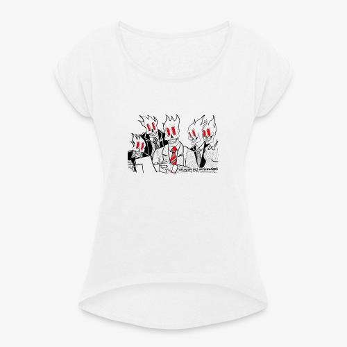 REUNION DES ACTIONNAIRES - T-shirt à manches retroussées Femme
