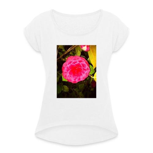 180-JPG - Maglietta da donna con risvolti